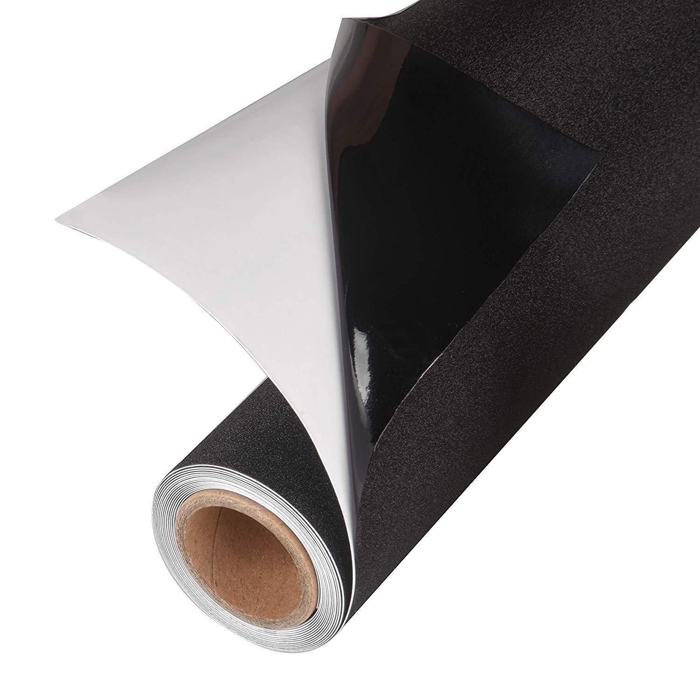 Ablave Privacy Black Window Film, Static Cling Window Tint Residential DIY Window Film No Glue No Adhesive UV Prevention Easy Removal (17.7'' x 78.7'')