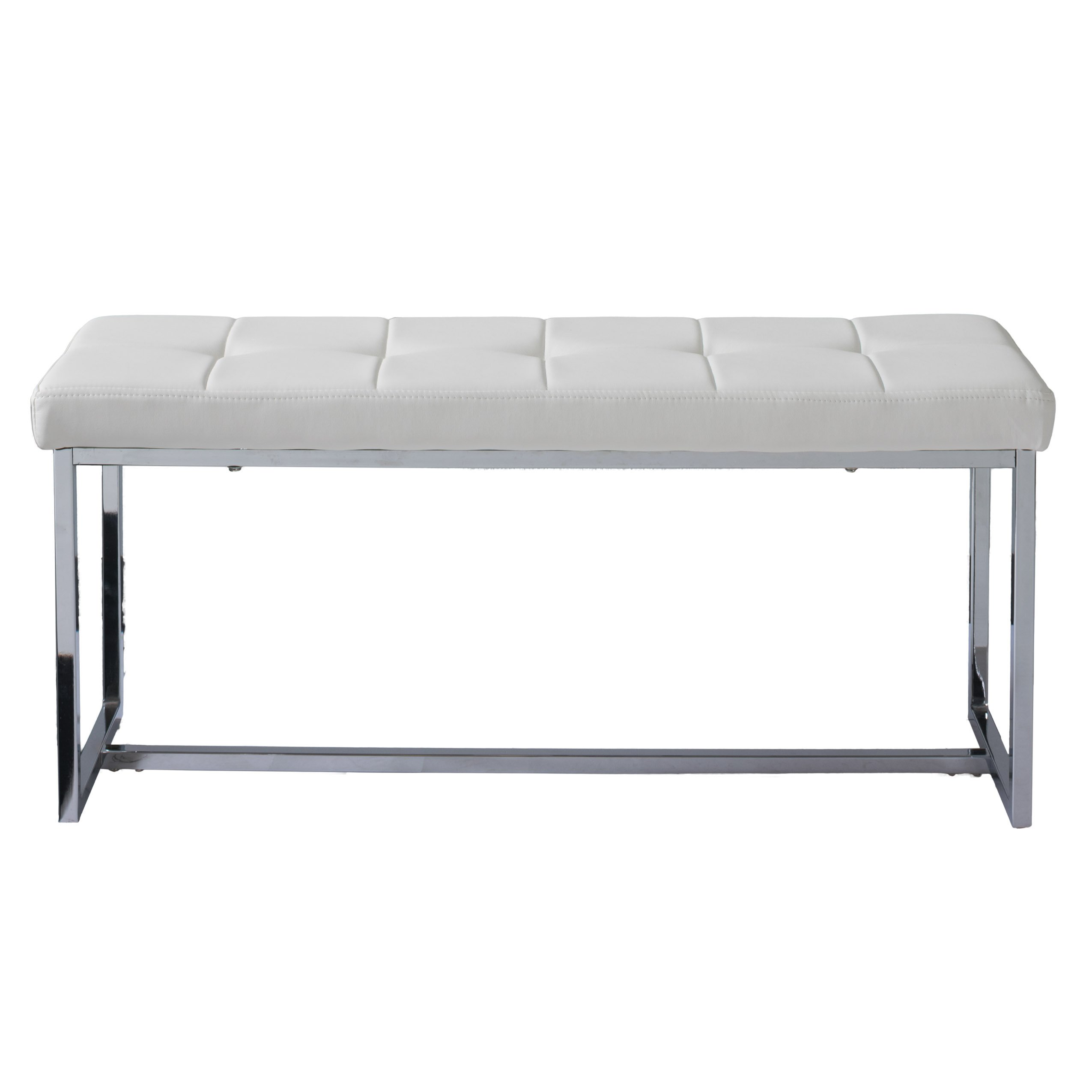 CorLiving LDF-112-O Huntington Bench White by CorLiving (Image #2)