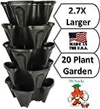 Mr Stacky Large 64 qt. Vertical Garden Planter - Set of 5