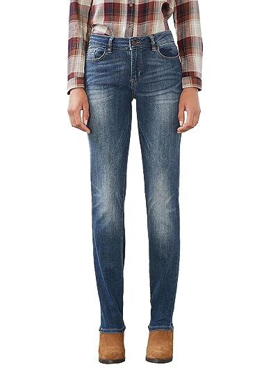 Leg Straight Mit Jeans Esprit Heller Waschung Damen 2DIEHWY9
