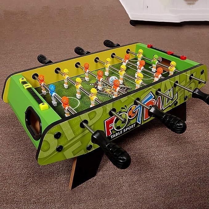 Futbolines Niños Fooseballs Bolas De Mesa Mesa De Fútbol Niño De Futbolín Seis Polos De Mesa Foozeballs Juguetes Educativos (Color : Green, Size : 47 * 24 * 17.5cm): Amazon.es: Hogar