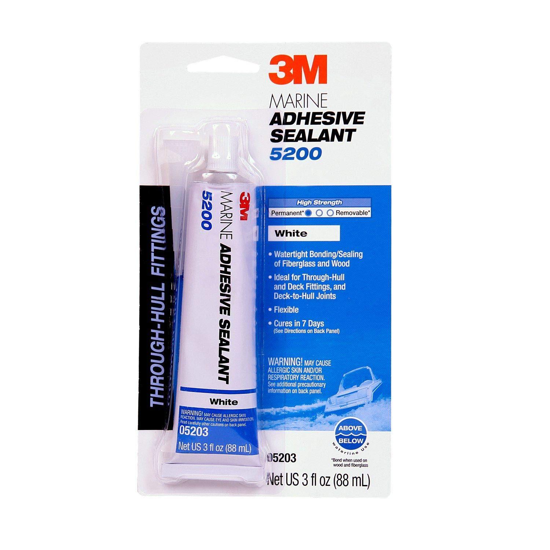 3M 05203 Marine Adhesive/Sealant 5200, White