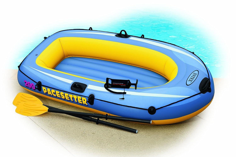 INTEX Pacesetter - Barca hinchable azul Talla:talla única ...