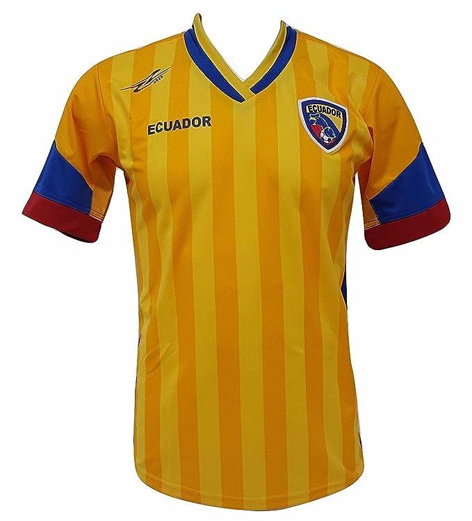 Arza Sports Ecuador fútbol Camiseta de los Hombres Copa América 2016 Diseño Exclusivo: Amazon.es: Ropa y accesorios