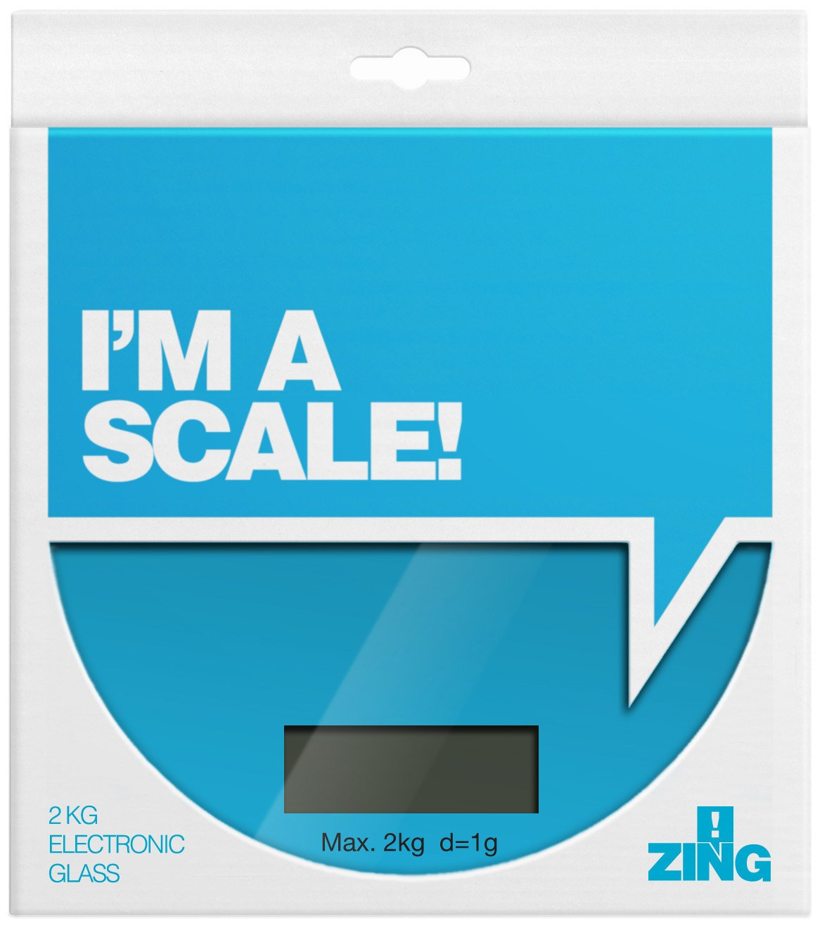 ZING! Electronic Scales - Red: Amazon.co.uk: Kitchen & Home