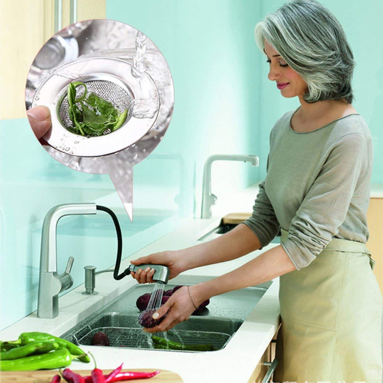 Stainless Steel Kitchen Floor Drain Sink Strainer Prevent Clogging Appliance Sewer Strainer Water Tank Filter YAHALOU