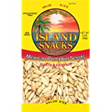 Island Snacks Pumpkin Seeds, Mexican, 3-Ounce (Pack of 6)