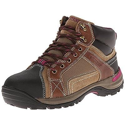 436e3f2f6ca Wolverine Women's Chisel Mid-Cut Steel-Toe Hiking Boot and Work Sock ...