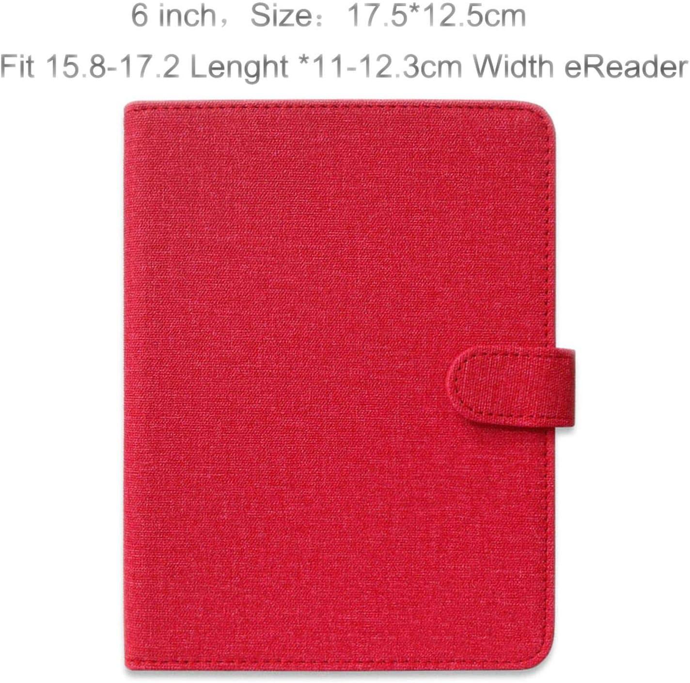 6 6.8 7.8 Pulgadas Ereader Funda para E Book Cover para Onyx Pocketbook Digma para Kindle Paperwhite Protective Skin: Amazon.es: Electrónica