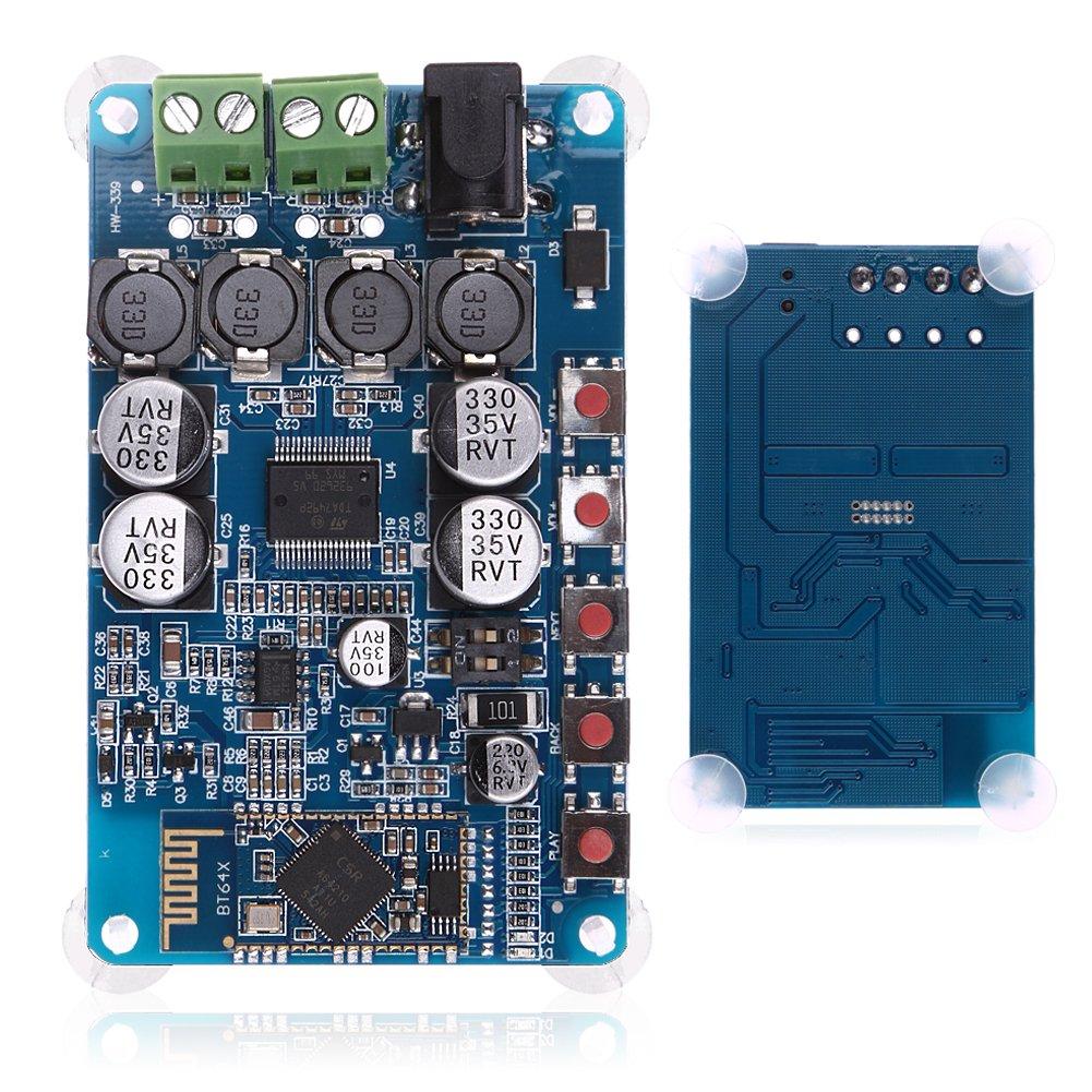 Lysignal TDA7492P Bluetooth CSR4.0 Digital Power Amplifier Board Bluetooth Audio Receiving Power Amplifier Board Lychee Limited