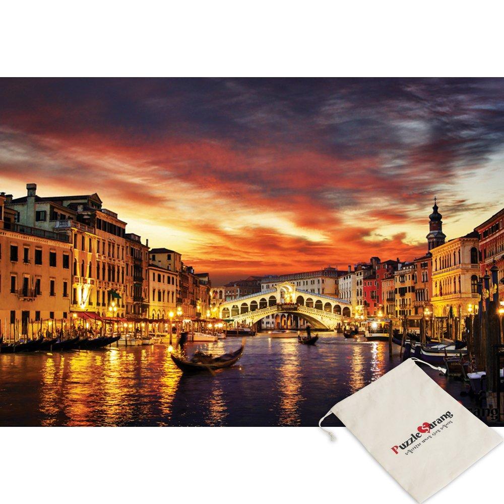 人気新品 [ポーチ]含まCity Water of Venice Water Painted Byサンセット B079ZMJD8G、イタリア – ] 1000ピースジグソーパズル[パズルKorea ] B079ZMJD8G, ハーブセンター:7a096a54 --- a0267596.xsph.ru