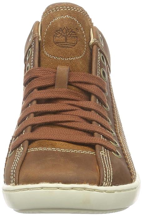 1d4b62b983c Timberland Castille Chukka, Women's Low-Top Sneakers, Brown (medium brown),  3.5 UK: Amazon.co.uk: Shoes & Bags
