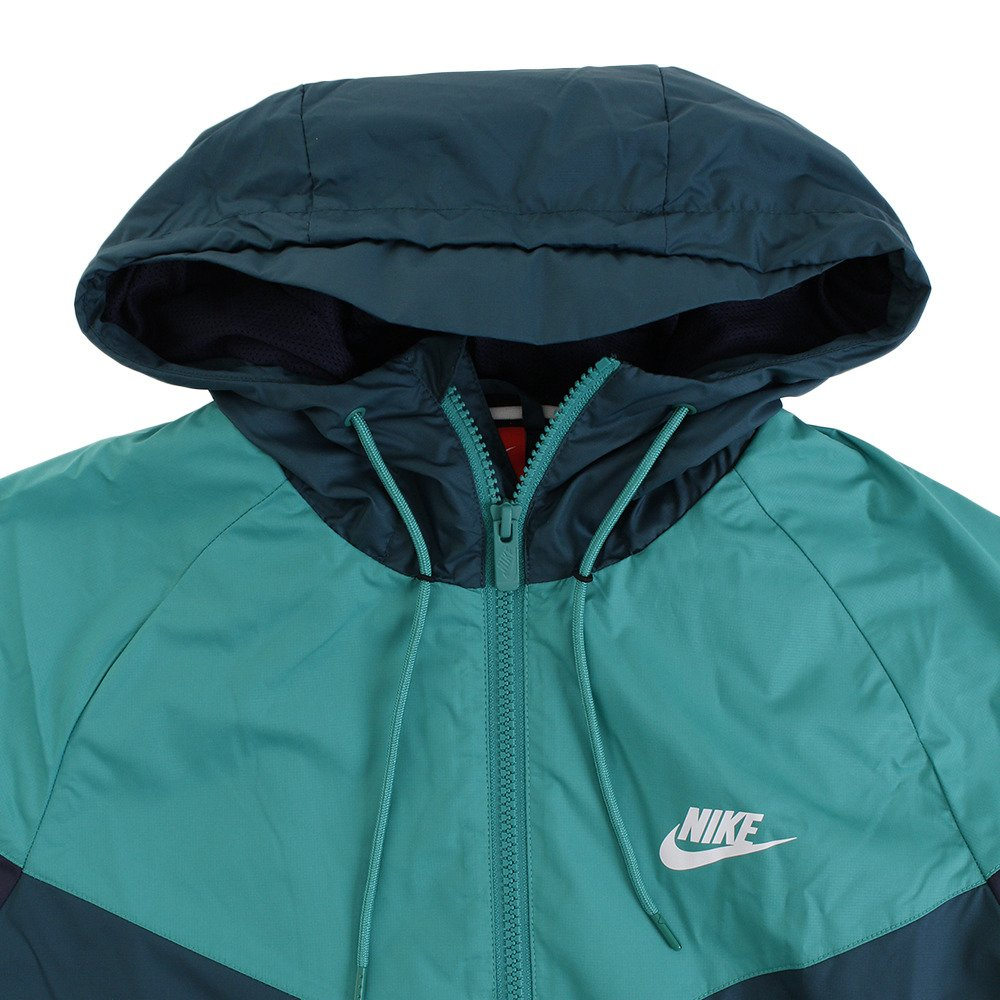 Clothing, Shoes & Accessories Beautiful Nike Jacket Xs Turquois Blue Gray Zip Front Pocket Running Coat Track Jacket T1 Large Assortment
