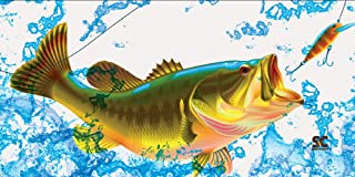 """product image for Sport N Care Marine Towel (Bass) Beach Towel 32"""" x 60"""""""