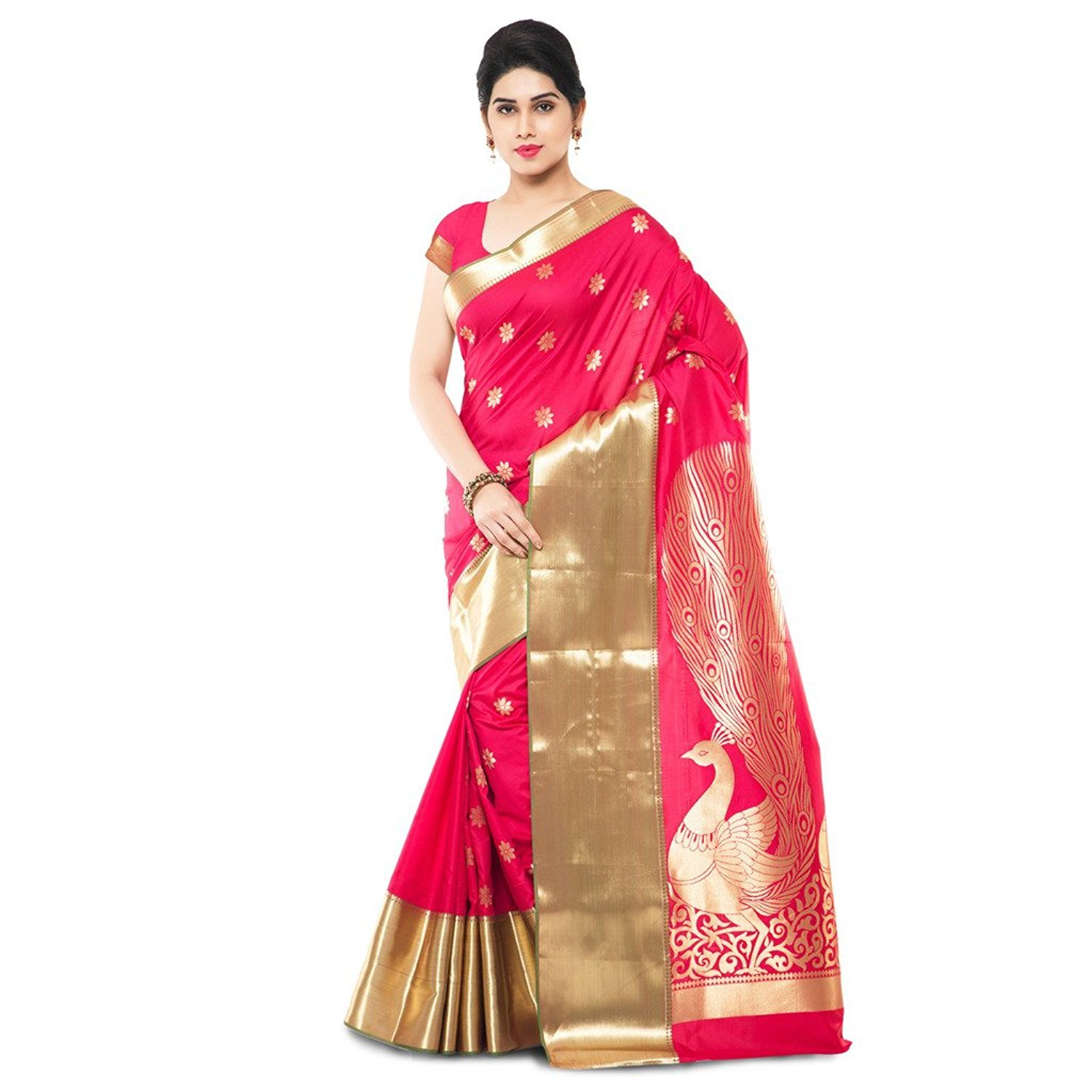 Indian bollywood style traditional Saree