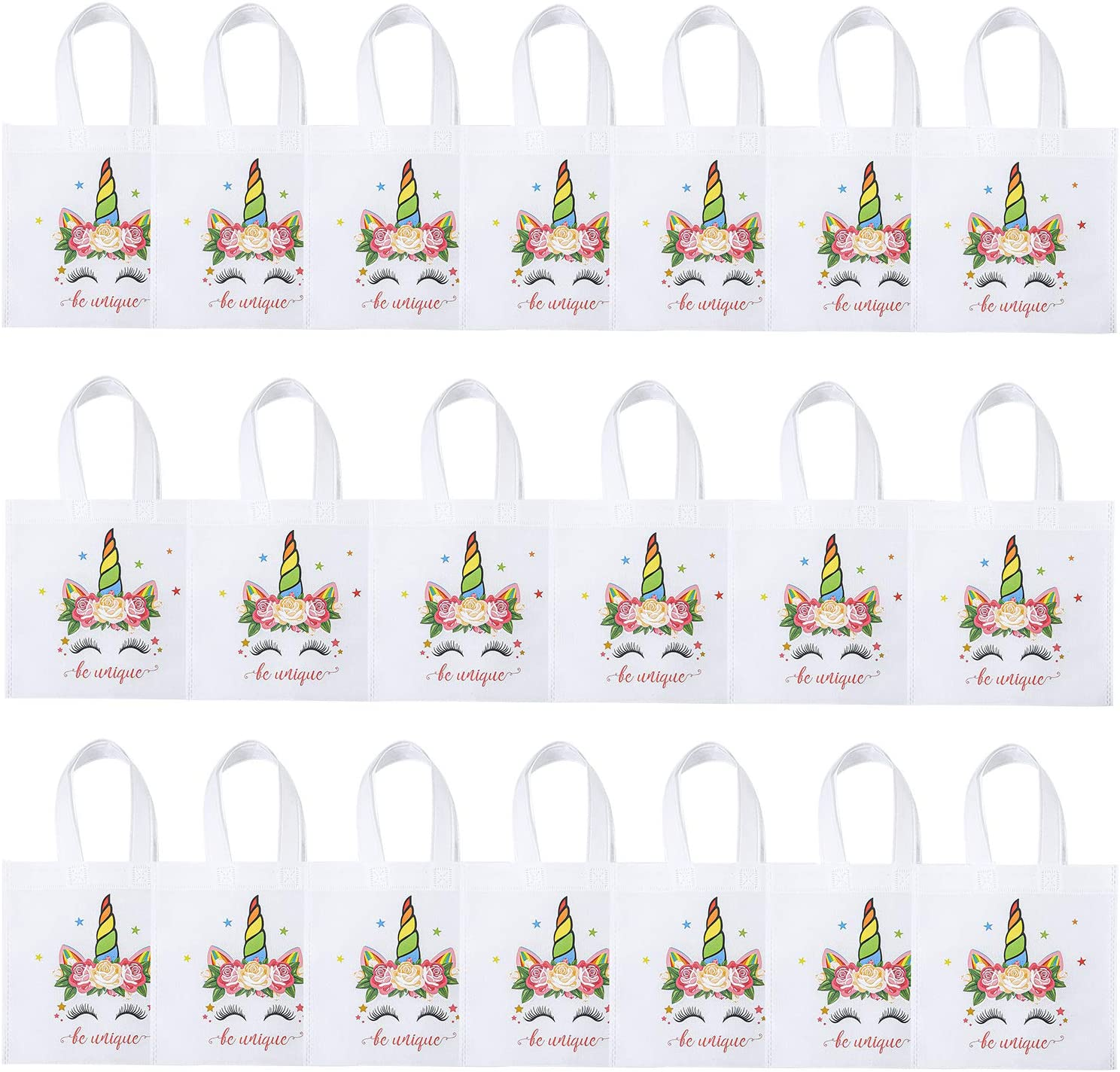 Unicorn Party Favor Bags for 20 Guests