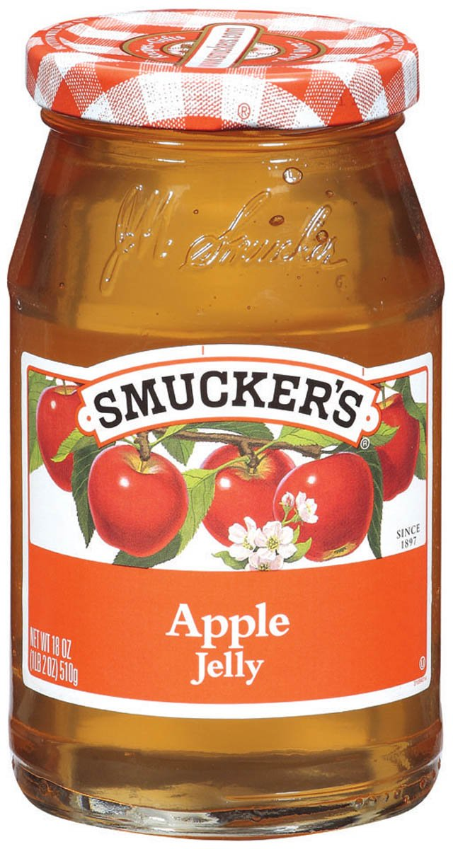 Smucker's Apple Jelly, 12-Ounce (Pack of 6)
