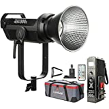 Aputure LS 300x Bi-Color LED Video Light, 2700-6500k 350W 24300lux@1m Sidus Link App & 2.4Ghz Remote Control 9 Built-in Light