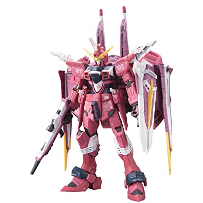 Bandai Hobby No.09 Justice Gundam Seed 1/144-Real Grade: Toys & Games