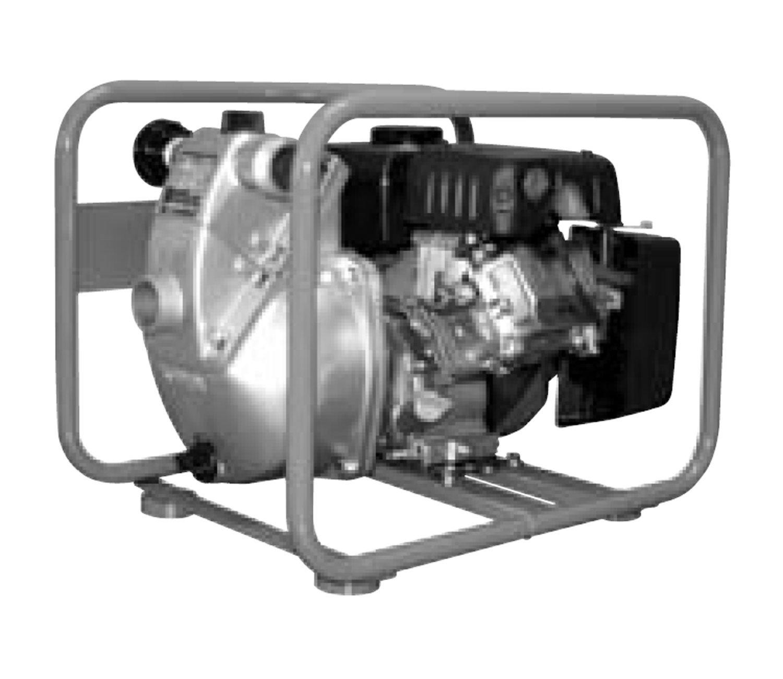 工進 エンジンポンプ4サイクル WフランジSEM-40WG