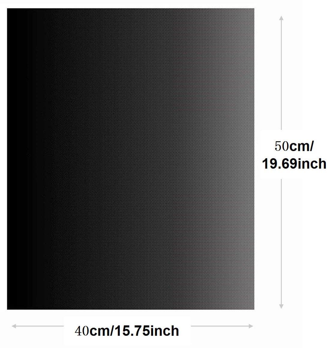 ... gas eléctrico microondas ventilador horno tostadoras - 40 x 50 cm/15,75 x 19,69 pulgadas - se puede utilizar como alfombrilla de horno para barbacoa ...