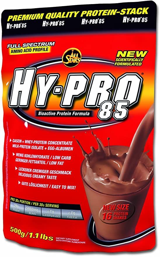 All Stars Hy-Pro 85 Himbeere-Quark 500g (D)
