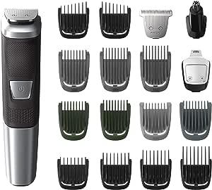 (No Travel Case) - Philips Norelco Multigroom 5000, 18 attachments, MG5750/49