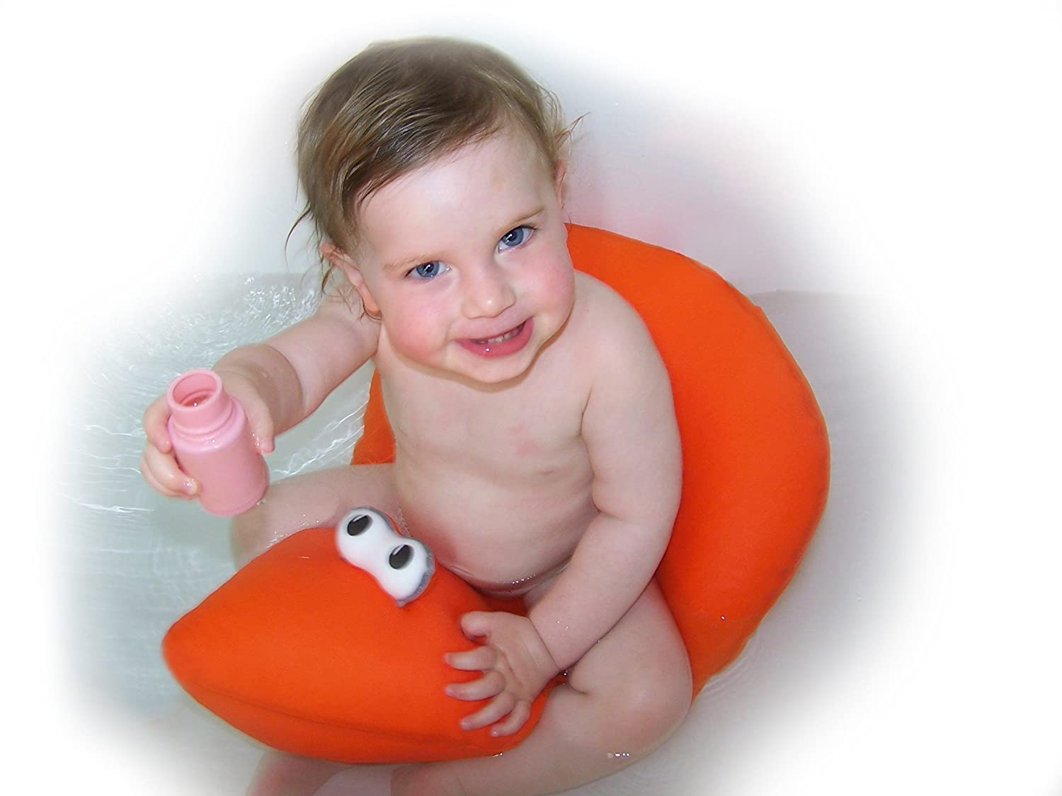 Shibaba Cushioned Baby Toddler Bath Seat (Pink): Amazon.ca: Baby