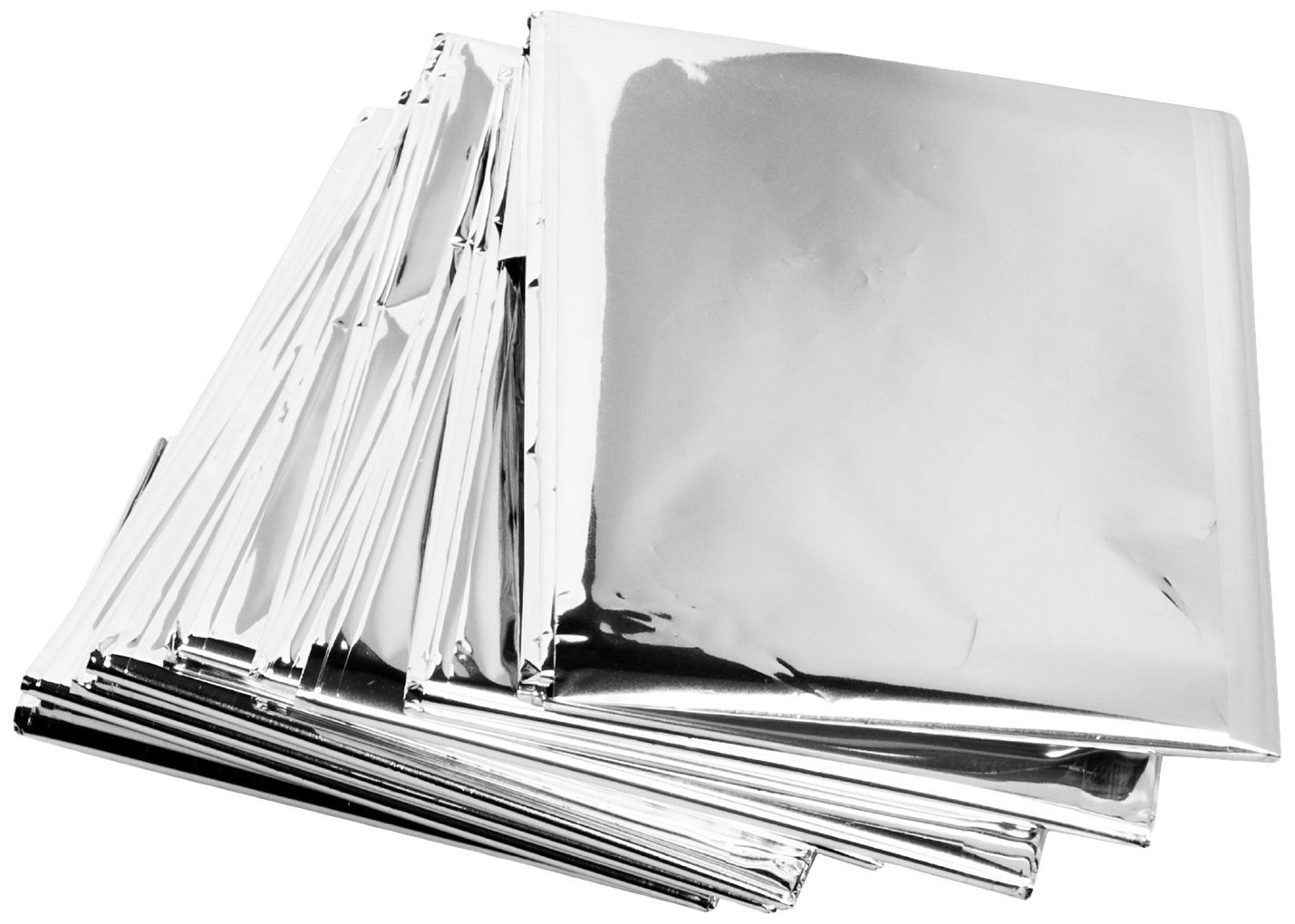 Science Purchase 73MYLARPK20 Emergency Mylar Thermal Blankets, 54'' x 84'' (Pack of 20)