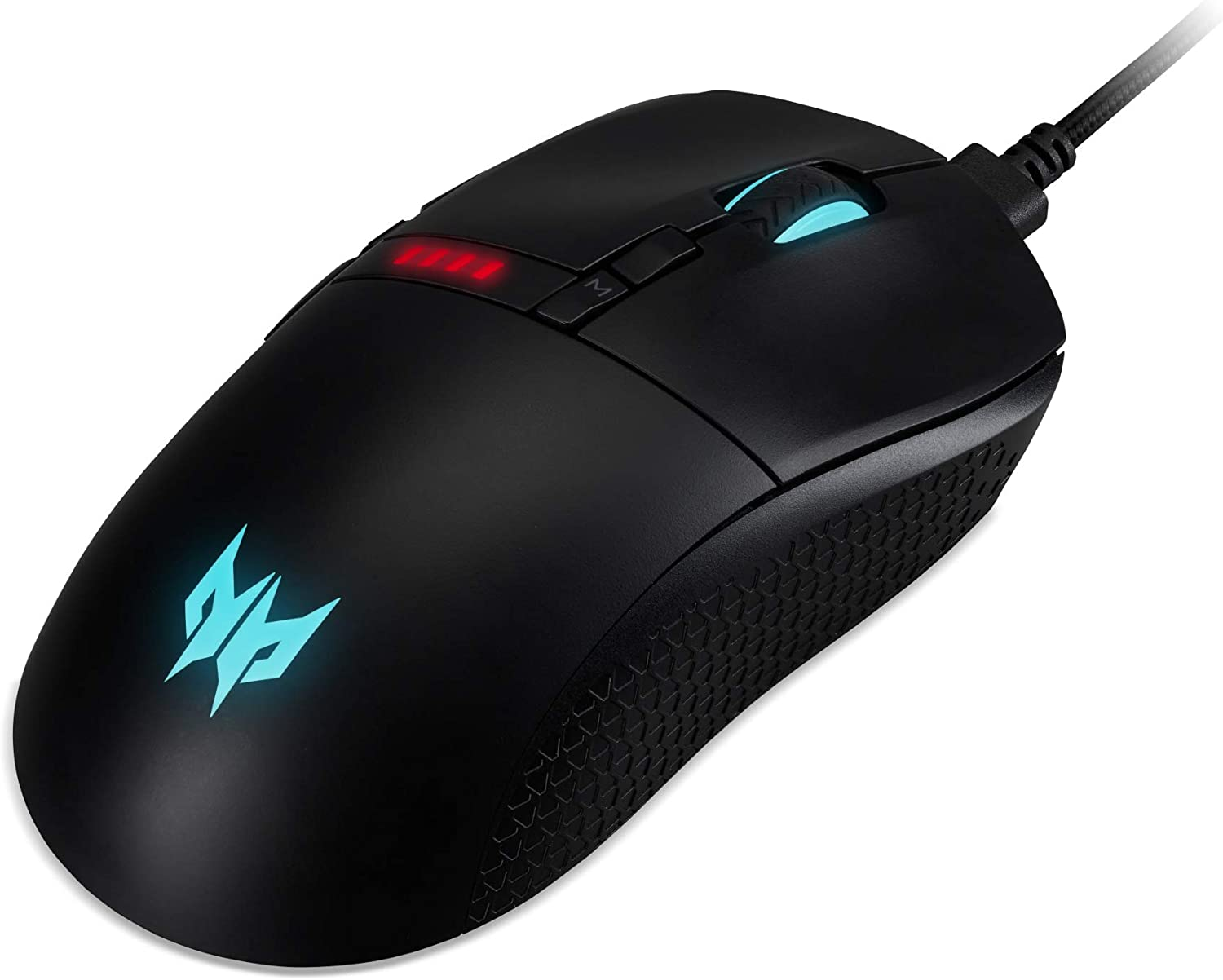 Acer Predator Cestus 350 Gaming Mouse Black Computers Accessories