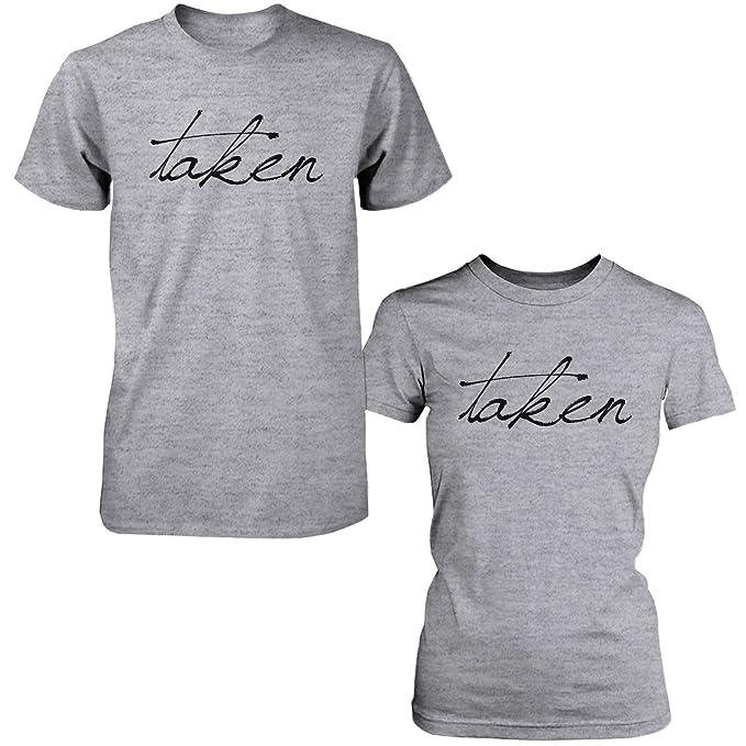 Cute tomado a juego par camisetas Funny regalo para parejas y recién casados: Amazon.es: Ropa y accesorios