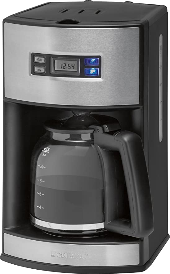Clatronic KA 3482 Cafetera de goteo programable, capacidad 15 ...