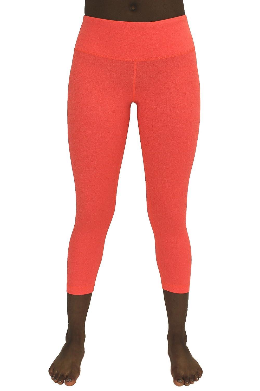 90 Degree By Reflex – Power Flex Yoga Capri – Cationic Heather Activewear Pants