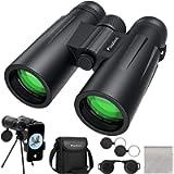 Usogood 12x50 Binoculars for Adults with Tripod, High Power Binoculars for Bird Watching, Stargazing, Traveling and…