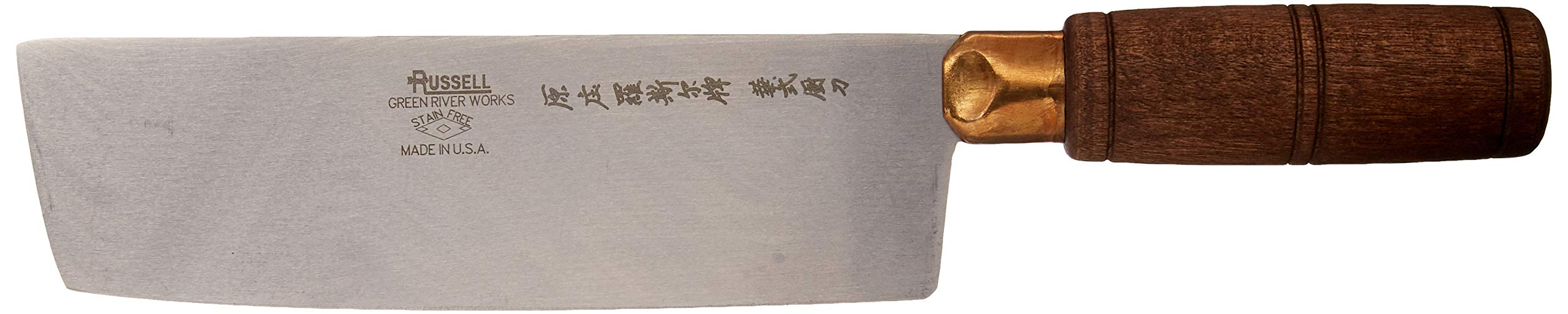 Dexter Russell S5197 Traditional 7'' Chinese Chefs Knife by Dexter-Russell