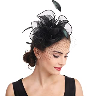 f221224be Zivyes Fascinators Hat for Women Tea Party Headband Kentucky Derby ...