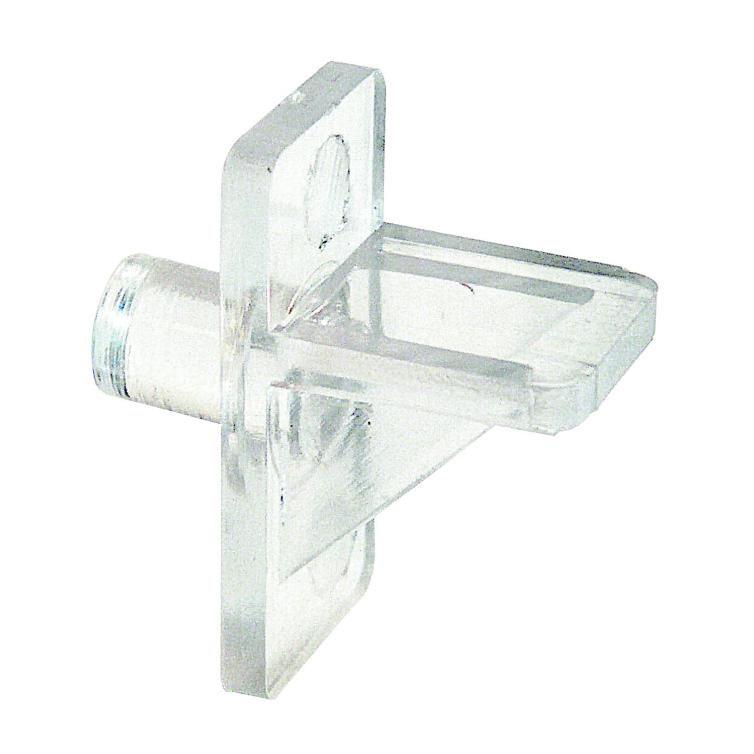 Plastic Pack Of 8 1//4 In Diameter Clear Prime-Line Products U 10144 Shelf Support Pegs ,