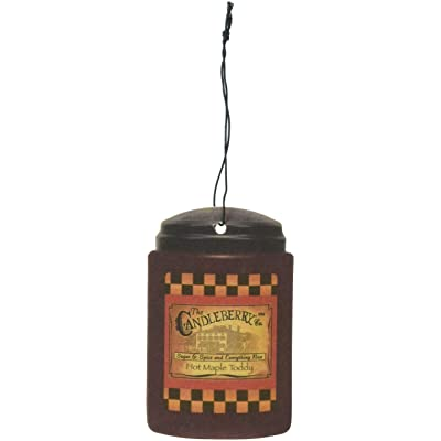 Candleberry Hot Maple Toddy Car Freshener X3: Home & Kitchen [5Bkhe1003076]