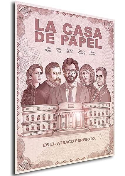 Instabuy Poster La casa de Papel - Cartel de Teatro (B) - A3 ...