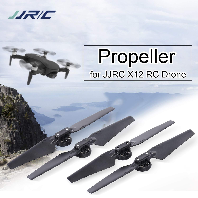 Goolsky- JJRC X12 RC Drone Quadcopter Helicóptero Aviones Hélice ...