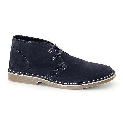 Mr Shoes M056BS, Desert boots homme - bleu - bleu marine, 40