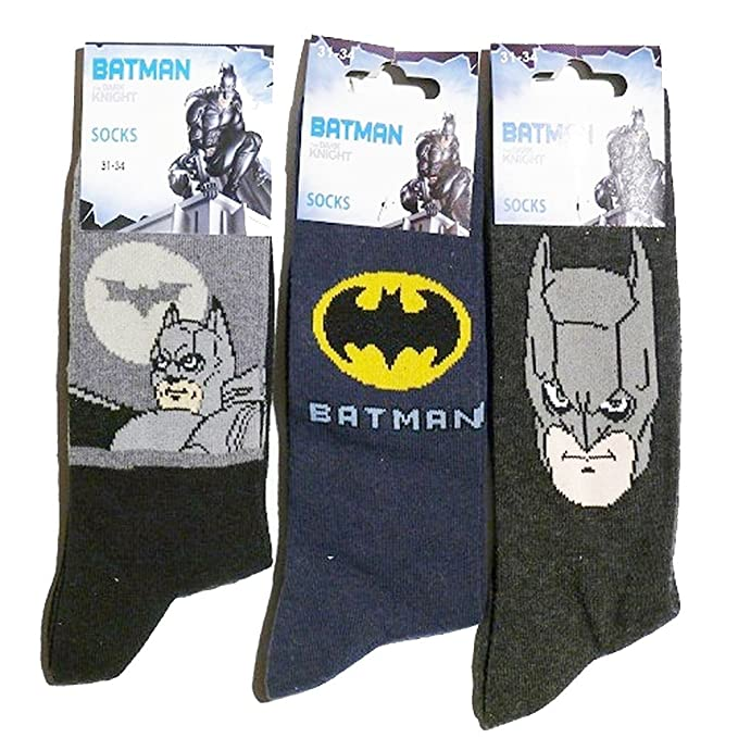 Batman Calcetines The Dark Knight multicolor 10 Años: Amazon.es: Ropa y accesorios