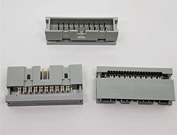 IDC Straight Pin Boxed Header Connectors 2.54mm 10 14 16 20 26 Ways