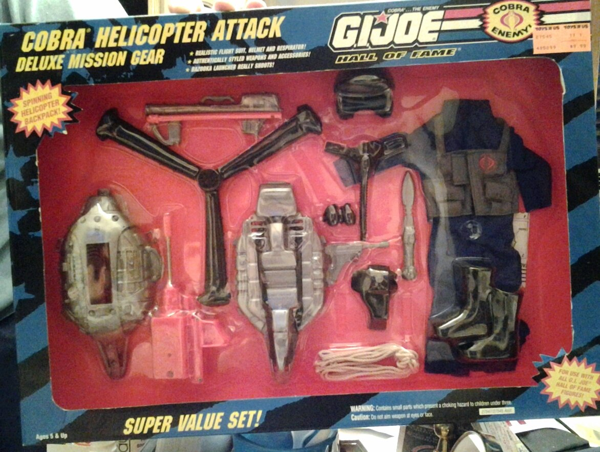 GI Joe Hall of Fame Cobra Helicoptor Attack Hasbro