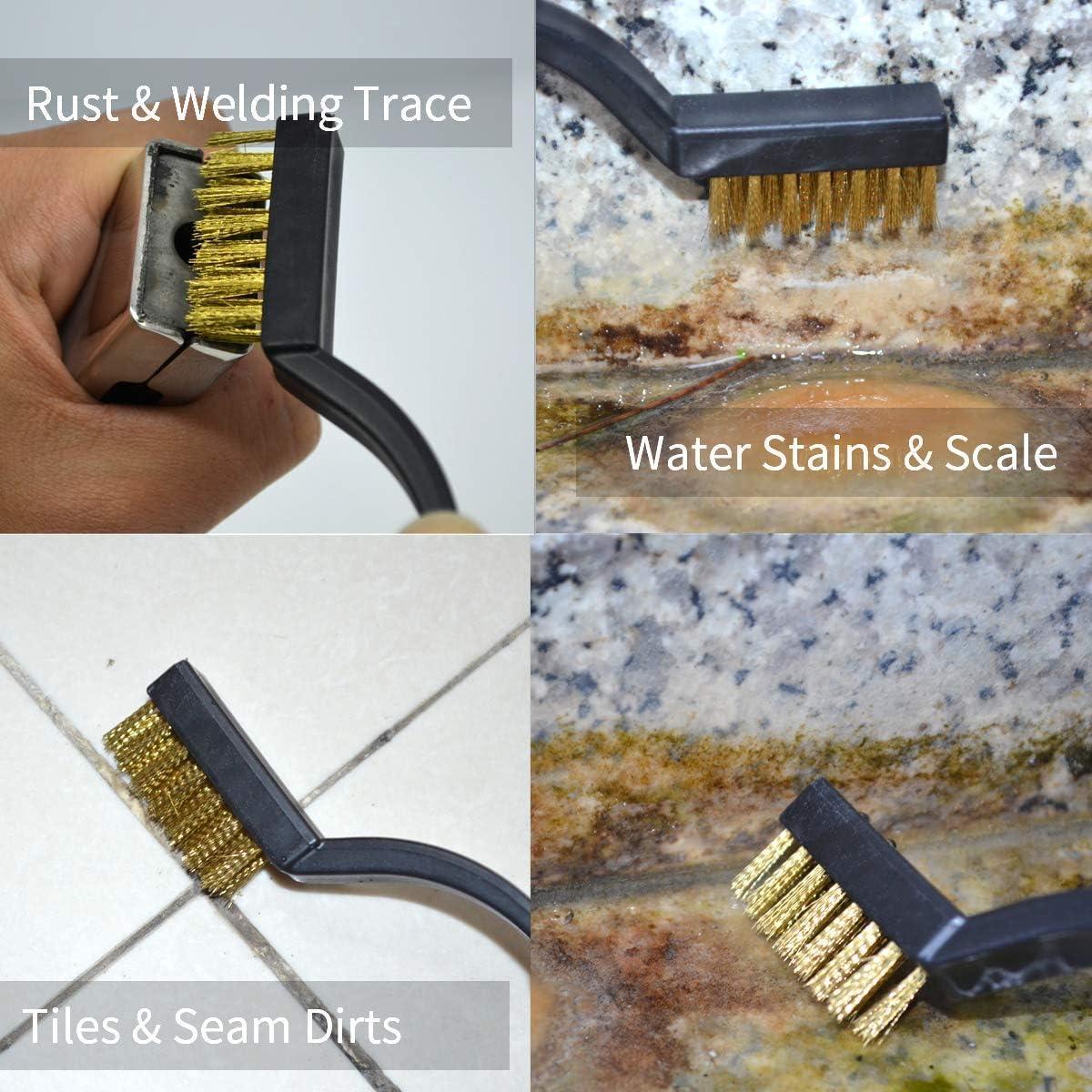 ESD Safe Anti Static Brush Set Detailing Cleaning Tool for Computer Mobile Phone Tablet PCB Motherboards BGA Keyboard Cameras Lens Repair Work 12 in 1