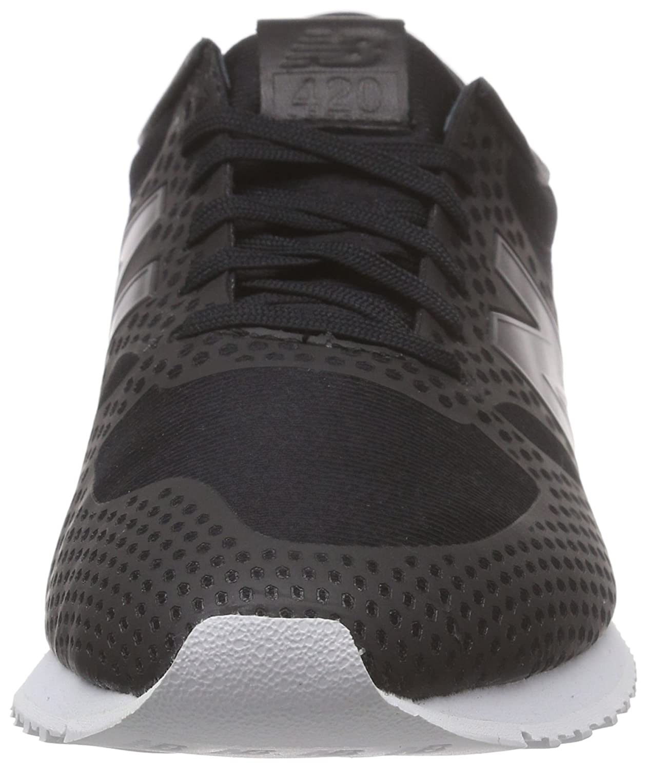 Amazon.com | New Balance Wl420df, Womens Low-Top Sneakers Black | Walking