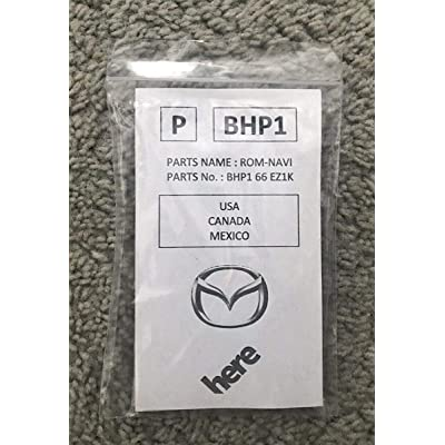 UCMM Mazda BHP1 66 EZ1K Navigation System 3 6 CX-3 CX-5 CX-9 USA/Canada: Electronics