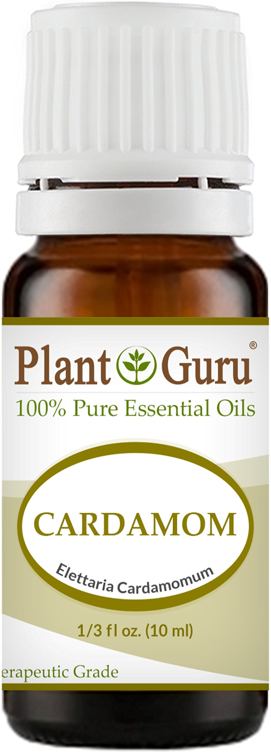 Cardamom Essential Oil 10 ml. 100% Pure Undiluted Therapeutic Grade.