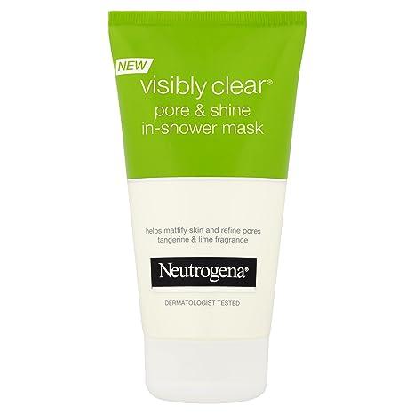Neutrogena Visiblemente Clear poros y Shine In-Shower máscara