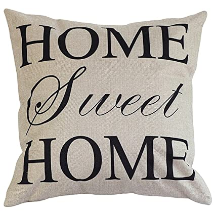 Decorative Pillow Home Sweet Home